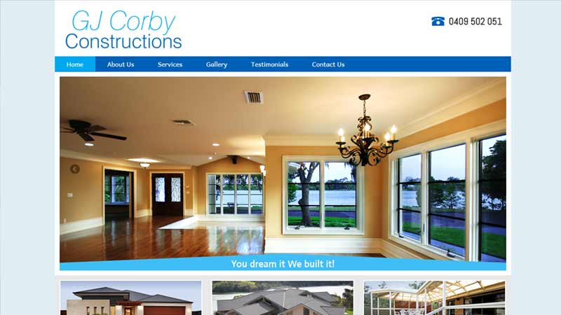 GJ Corby Constructions
